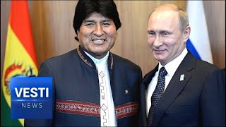 Evo Morales Visits Moscow, Signs On To Joint-Venture With Russia to Mine Bolivian Lithium!