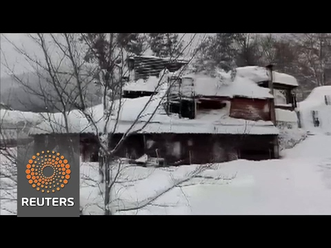 Hope fades of finding survivors after Italy avalanche