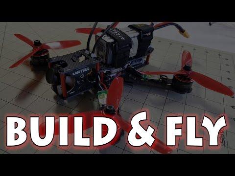 Lantian 215mm X-Frame Build & Fly - UCnJyFn_66GMfAbz1AW9MqbQ