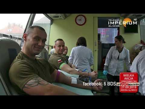 Zaproszenie Na Akcję Krwiodawstwa i Festyn Służb Mundurowych Arena