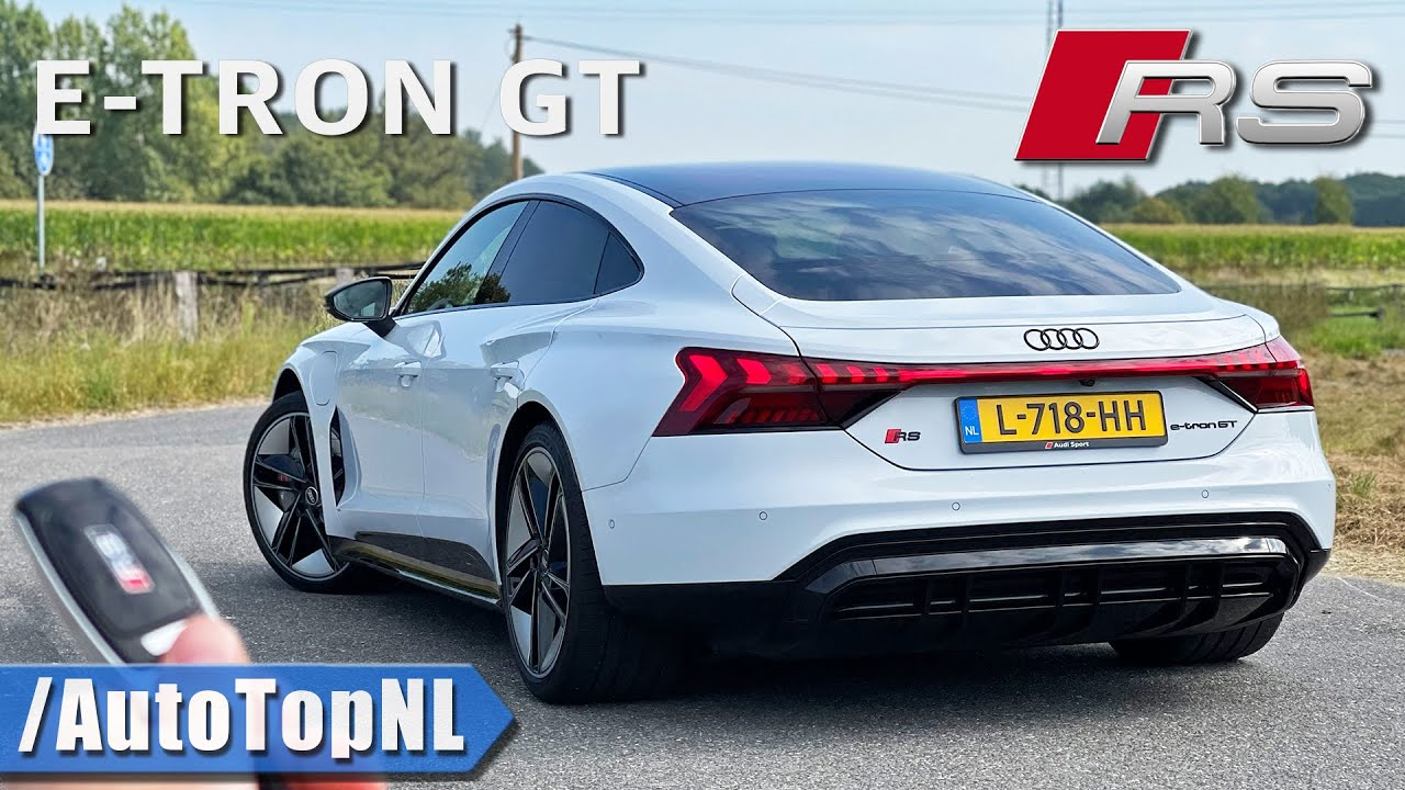 AUDI RS E Tron GT | REVIEW on AUTOBAHN [NO SPEED LIMIT] by AutoTopNL