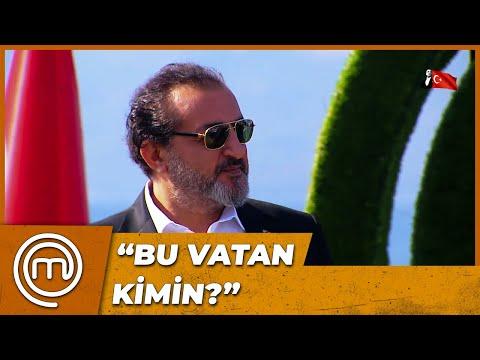 MEHMET ŞEF'TEN ŞEHİTLERİMİZ İÇİN DUYGULANDIRAN ŞİİR! | MasterChef Türkiye 88. Bölüm