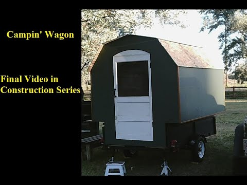 Campin' Wagon Vardo: Final construction, Window and Roof Sheathing