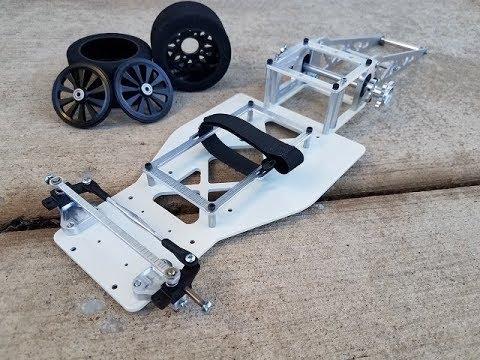 "9"" rc drag car custom with white powdercoated chassis 9"" wheelbase - UCeWinLl2vXvt09gZdBM6TfA"