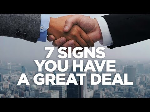 7 Signs You Have a Great Deal -- Real Estate Investing Made Simple photo