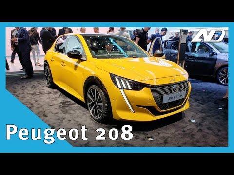 Nuevo Peugeot 208 y e208   Ya lo queremos ver en México   #GIMS2019