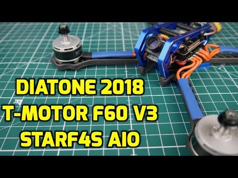 How to Build A FPV Freestyle Quadcopter Drone // Diatone 2018, T-Motor F60 V3, Racerstar StarF4S - UC3c9WhUvKv2eoqZNSqAGQXg