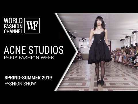 Acne Studios | spring-summer 2019 Paris fashion week