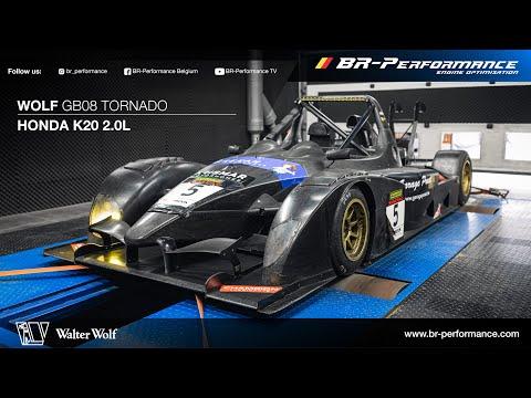 Wolf Racing GB08 Tornado / Dynorun By BR-Performance / Honda K20 Engine