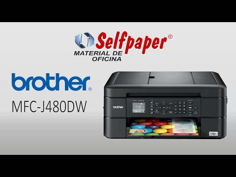 Brother MFC-J480DW - Video HD