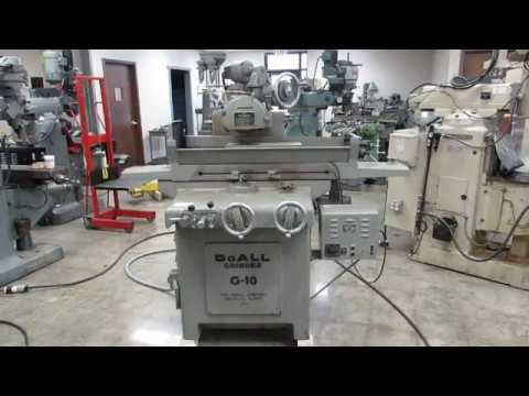 """DoAll G10 6"""" x 18"""" 2-Axis Automatic Surface Grinder In Online Auction At Machinesused.com"""