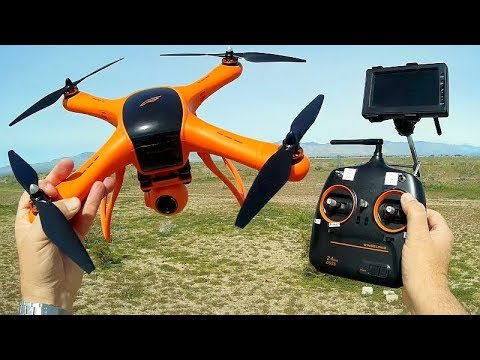 Wingsland M1 GPS Drone 2019 Version Flight Test Review - UC90A4JdsSoFm1Okfu0DHTuQ