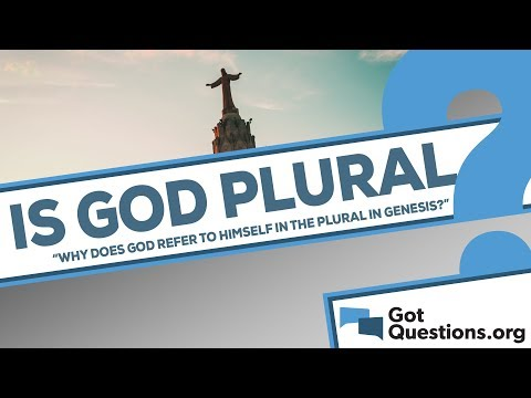 Why does God refer to Himself in the plural in Genesis 1:26 and 3:22?