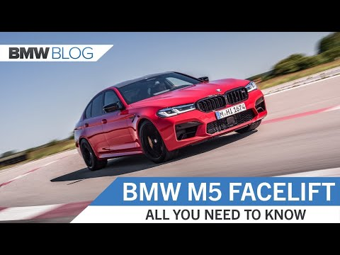 BMW M5 FACELIFT: All You Need To Know