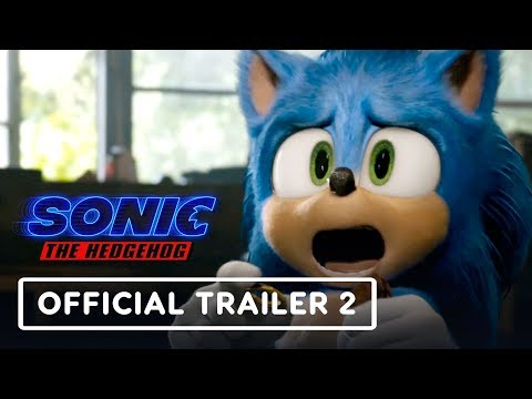 Sonic The Hedgehog - Official Trailer 2 (2020) Jim Carrey, James Marsden - UCKy1dAqELo0zrOtPkf0eTMw