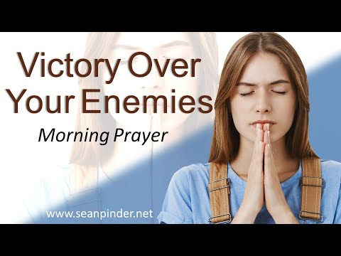 PSALM 136 - VICTORY OVER YOUR ENEMIES - MORNING PRAYER  PASTOR SEAN PINDER (video)