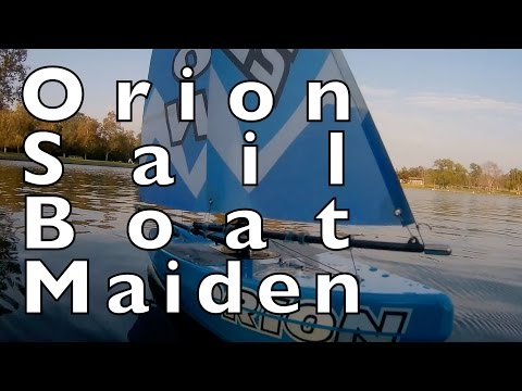 Orion Sailboat Maiden Voyage - HobbyKing - UCTa02ZJeR5PwNZK5Ls3EQGQ