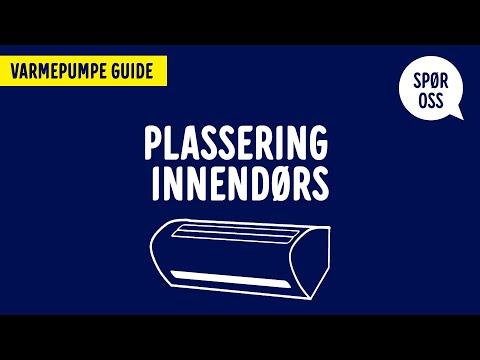Varmepumpeguide – Plassering innendørs