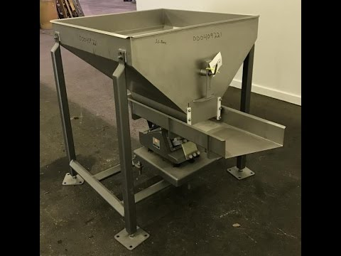 Used- Smalley Vibratory Conveyor/Feeder, 304 Stainless Steel - stock # 409221