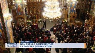 Dan Puric a conferentiat la Parohia Serban Voda