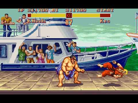 Super Street Fighter II (E. Honda) (Rozner Labs, Capcom) (MS-DOS) [1996] [PC Longplay]