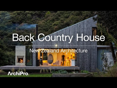Back Country House  – Uniquely New Zealand typology of the back country hut - UCw3LUhWr0j-z2rpqGfQK8Tg