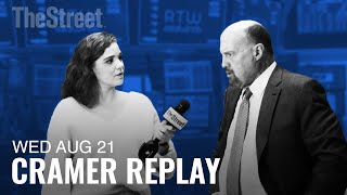 Jim Cramer Breaks Down Target's Earnings and Fantasy Football