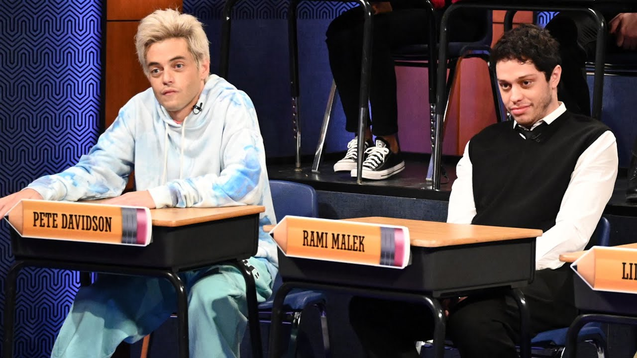 SNL: Rami Malek and Pete Davidson Play Each Other