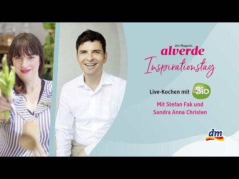 alverde-Inspirationstag x Live-Kochen mit dmBio