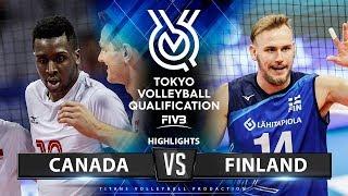 Canada vs Finland | Highlights Men's OQT 2019