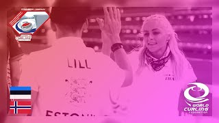 Estonia v Norway - round robin - World Mixed Doubles Curling Championship 2019