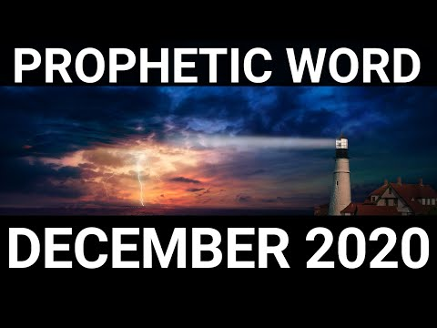 Prophecy December 2020   Not my will but yours be done