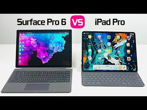 2018 iPad Pro vs Surface Pro 6 - UCvIbgcm10GqMdwKho8C1Zmw