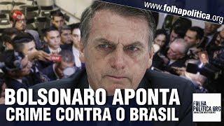Bolsonaro denuncia crime da mídia internacional contra o Brasil e desmascara hipocrisia frente a..