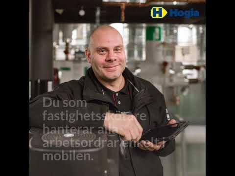 Hogia Ärendehantering, mobil teknisk förvaltning och hyresgästportal.
