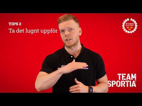 Lidingöloppet 2017 Tips2 ta det lugnt uppför