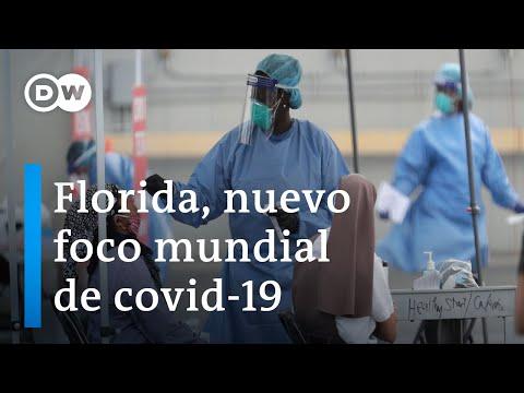 La Florida supera a España e Italia en contagios