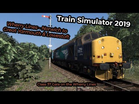 Class 37 Gala on the Wherry Lines -- Livestream 02/08/2019