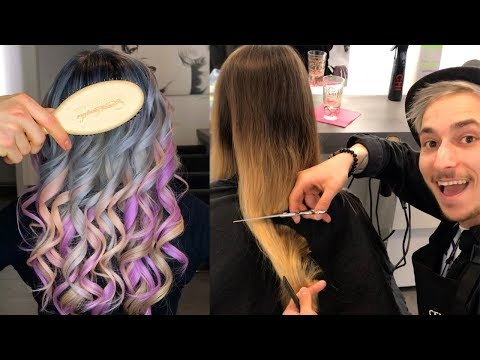 New Trendy Hairstyles Tutorials 2019 | How to Balayage Hair Technique - UCIk2OuKT6k-KRZdQ3dKtgkQ