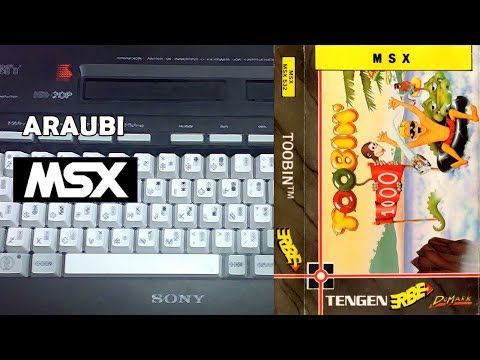 Toobin' (Domark, 1989) MSX [446] Walkthrough Comentado