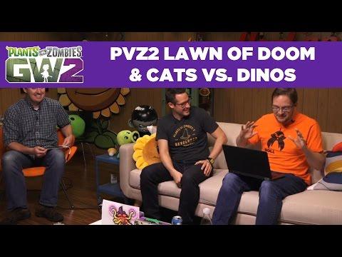 Lawn of Doom | Cats vs. Dinos | PvZ | Live From PopCap