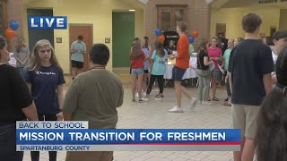 School works to make freshmen transition smoother