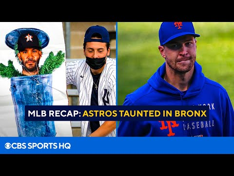 MLB Recap: Yankees fans taunt Astros in New York | MRI results for Jacob deGrom | CBS Sports HQ