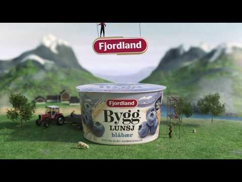 Fjordland Bygglunsj med blåbær
