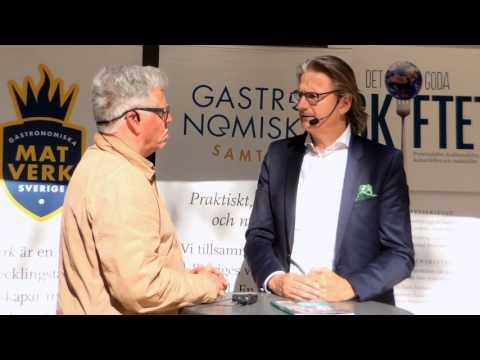 """Patrik Holm-Thisner, hållbarhetschef HKScan """"Ät mindre men ät svenskt!"""""""
