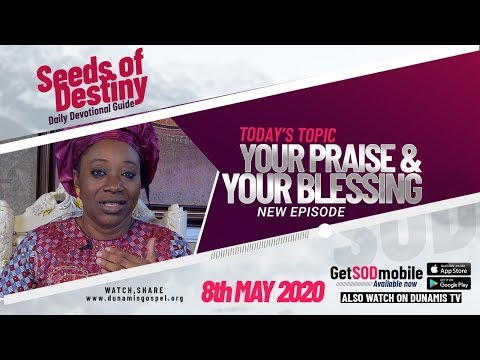 Dr Becky Paul-Enenche - SEEDS OF DESTINY  FRIDAY, 08 MAY, 2020