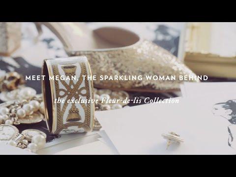 Megan Hess x Shoes of Prey: The Fleur-de-lis Collection