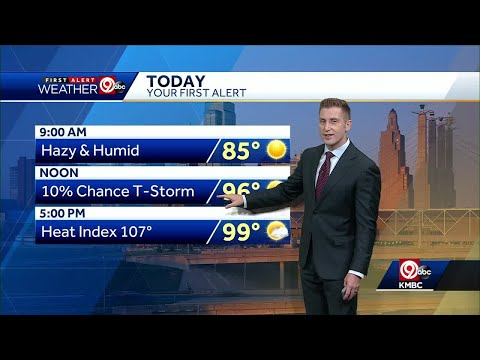 First Alert: Parts of metro likely to see 100 degrees