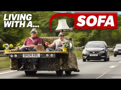 Living With A 90mph Sofa