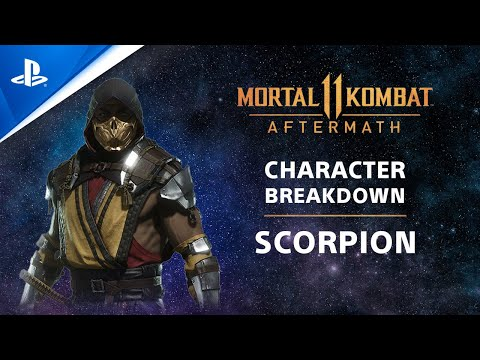Mortal Kombat 11 Aftermath - Competition Center Character Breakdown: Scorpion | PS4